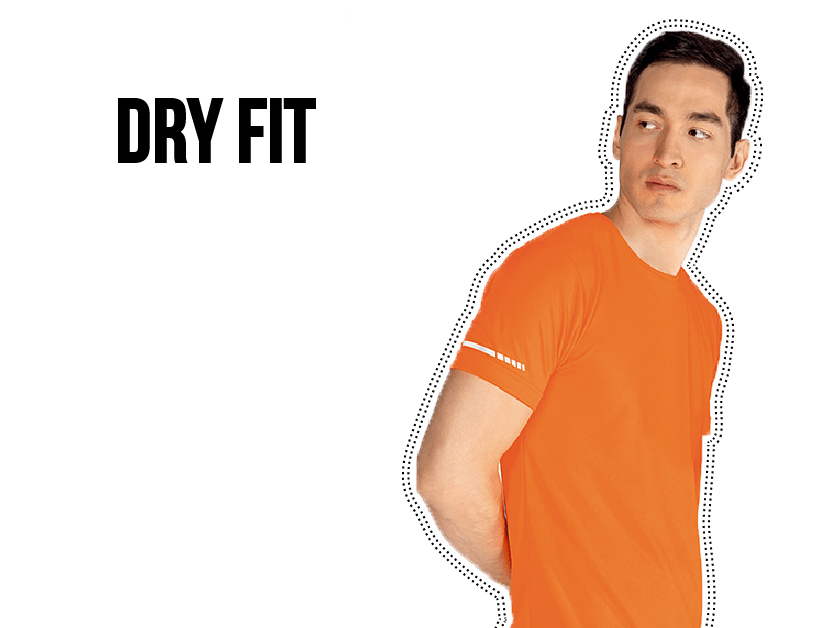 Playeras tipo Dry FIt