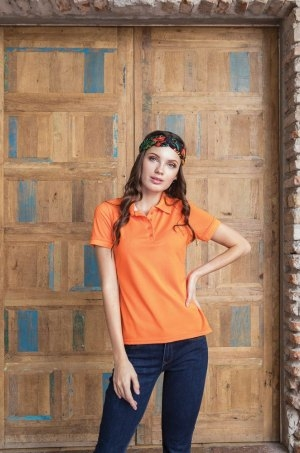 900 D DAMA TIPO POLO DRY FIT 100% POLI